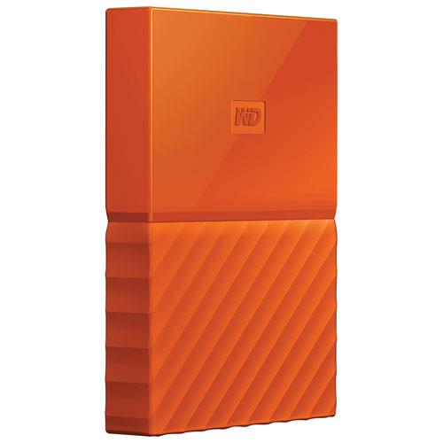 2.5   Portatile 1000GB My Passport USB3.0 (WDBYNN0010BOR) ORANGE