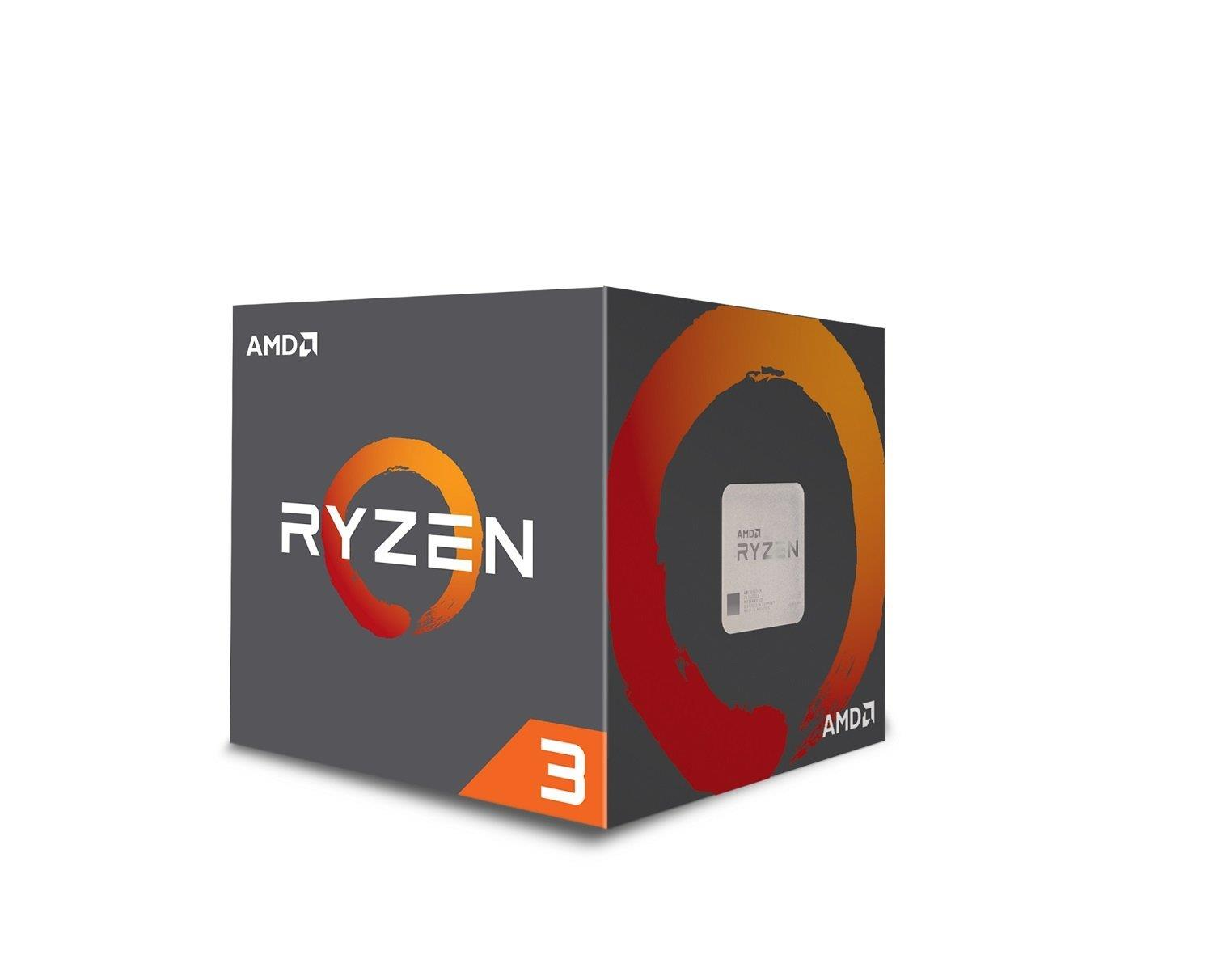 (LGA AM4) Ryzen 3 1200 Core4 (3.1Ghz, 4threads, 65W) Box con dissipatore
