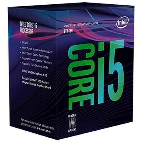 (LGA1151/3) i5-8400 Core6 (3.8GHz Turbo, 6threads, 6Core, 65W) Coffee Lake - Box con dissipatore
