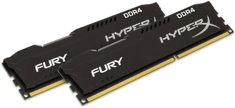 3200MHz 16Gb DDr4 CL16 Kit 2x8Gb (HX432C16FB3K2/16) HyperX Fury