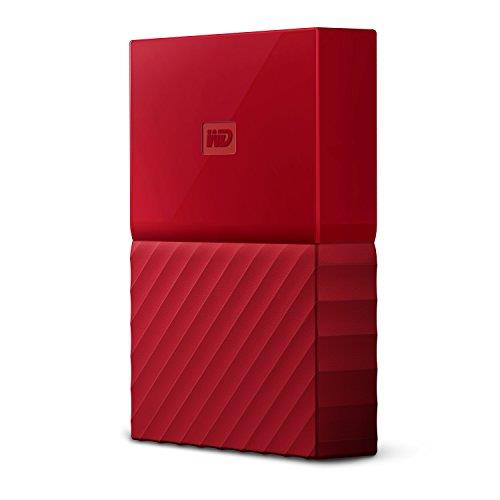 2.5   Portatile 2000GB My Passport USB3.0 (WDBS4B0020BRD-WESN) RED