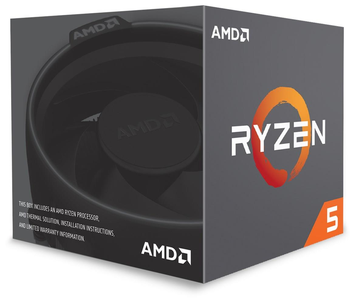 (LGA AM4/2) Ryzen+ 5 2600 Core6 (3.9Ghz, 12threads, 65W) Box con dissipatore