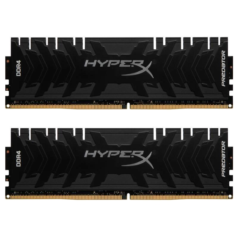 3000MHz 16Gb DDr4 CL15 Kit 2x8Gb (HX430C15PB3K2/16) HyperX Predator