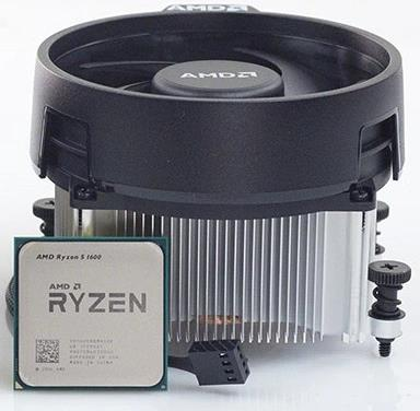 (LGA AM4/2) Ryzen 5 2600X Core6 (4.2Ghz Turbo, 12threads, 95W) Box con dissipatore