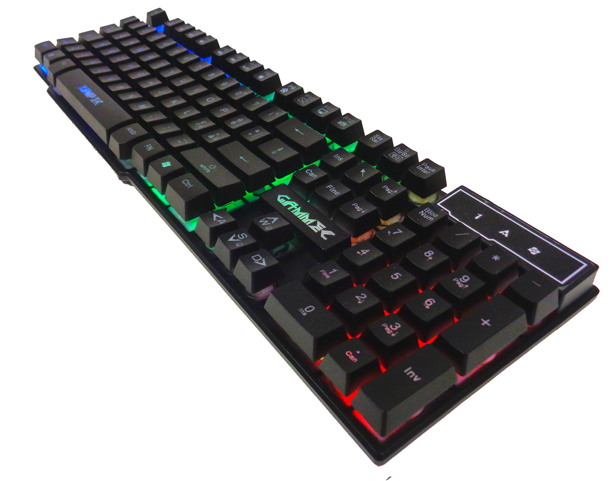 Keyboard GAMING - XSniper - Led Multicolor - (KBXSNI)