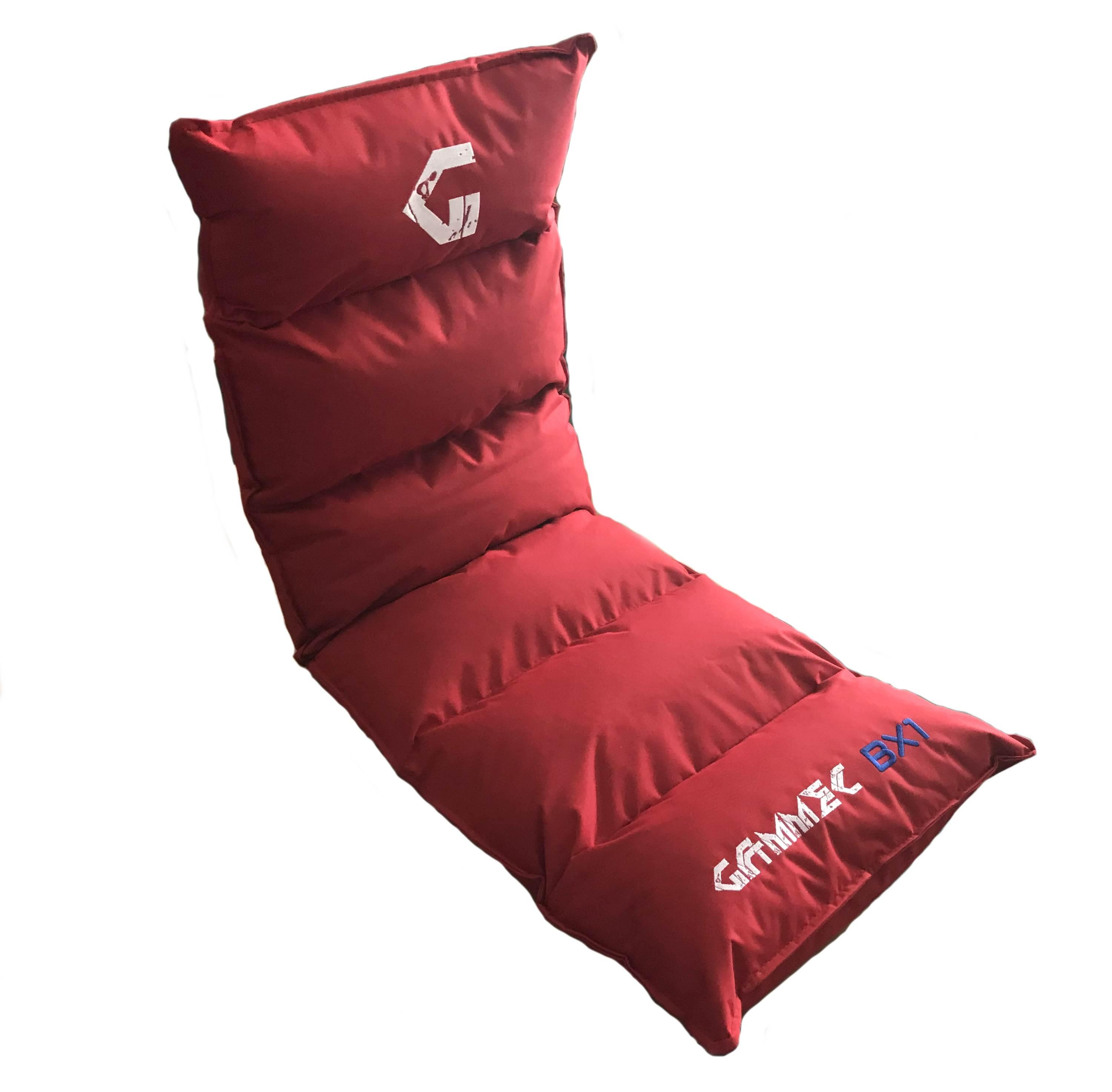 CUSCINO POLTRONA SOFT GAMING reclinabile BX1 (BX1RED) ROSSA