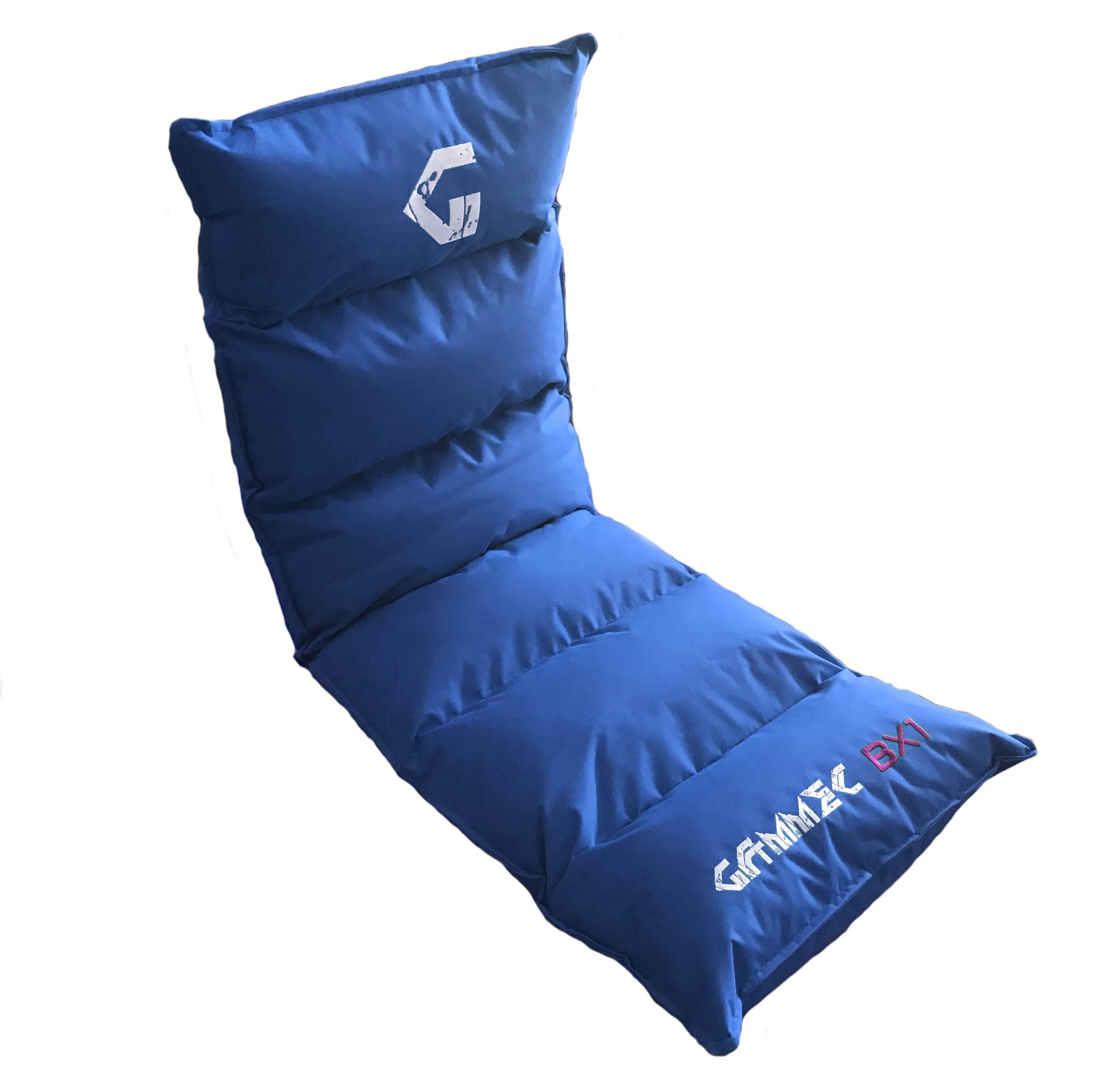 CUSCINO POLTRONA SOFT GAMING reclinabile BX1 (BX1BLU) BLU