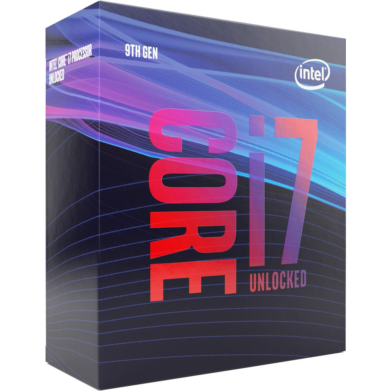 (LGA1151/4) i7-9700K Core8 (4.90Ghz Turbo, 8threads, 8Core, 95W) Box senza dissipatore