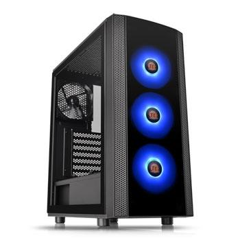 Middle tower Versa J25 TG RGB (NO Alimentatore) VETRO+3  RGB FAN