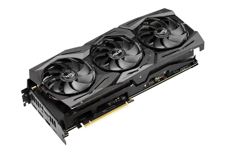 nVidia GeForce RTX2080Ti 11Gb OC - Strix Advanced (ROG-STRIX-RTX2080TI-A11G-GAMING)