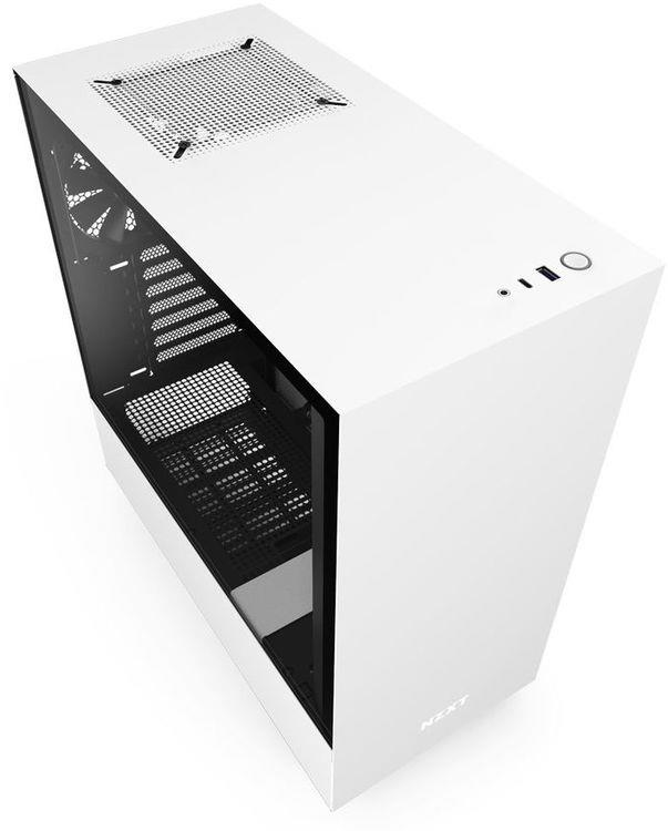 Middle tower - H510 - White/Black (NO Alimentatore)