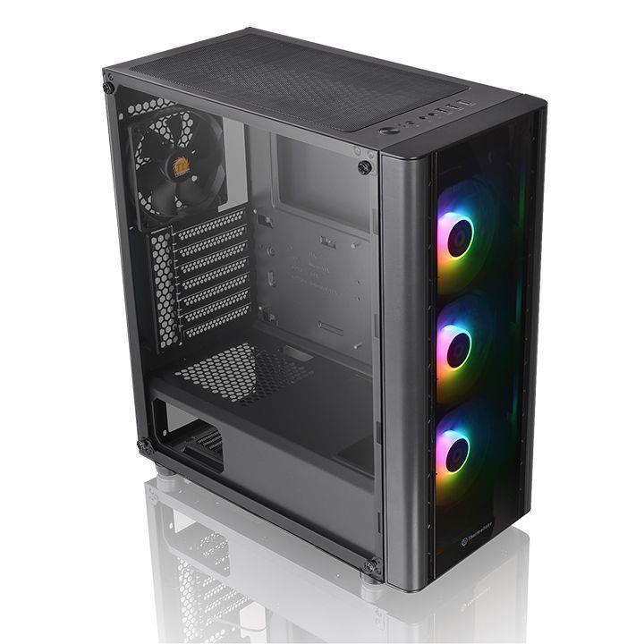 Middle tower V250 TG aRGB (NO Alimentatore) VETRO+3  ARGB FAN