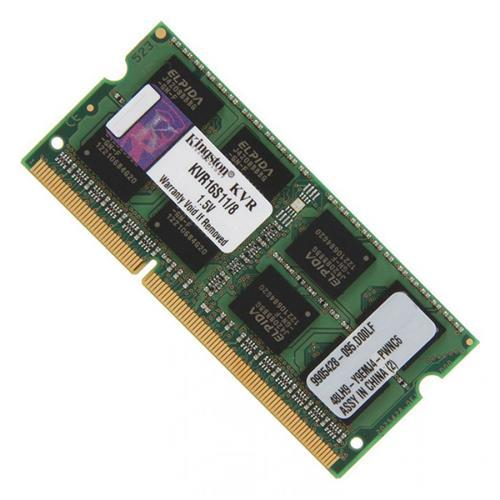 SO-DIMM 1333MHz  2GB DDr3 PC10600 CL9 SINGLE (KVR13S9S6/2)