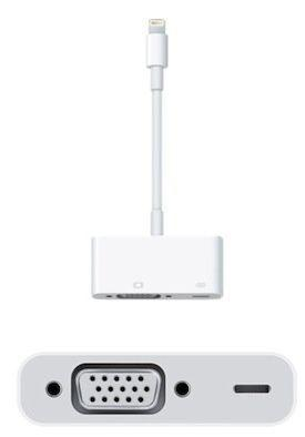 Adattatore Lightning to VGA per iPhone5 - iPad Mini/Air (cod.MD825ZM)